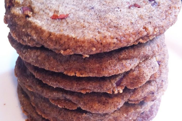 Buckwheat Butter Cookies with CacaoNibs 1