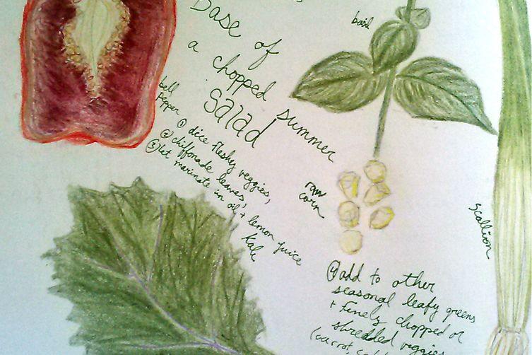 Hands-On Superlative Summer SaladStarter 1
