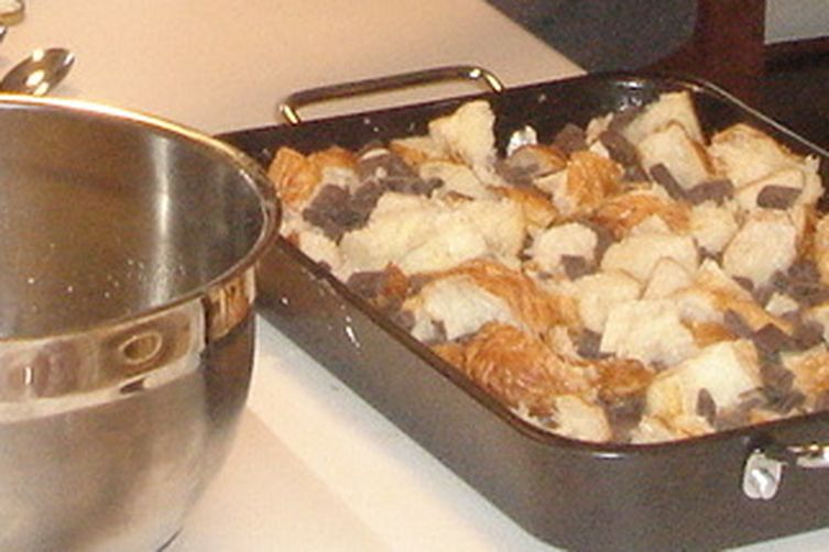 Bread Pudding with Chocolate ChunkSauce 1