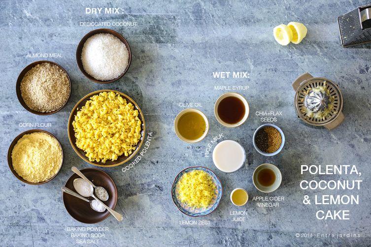 Polenta & Coconut LemonCake 1