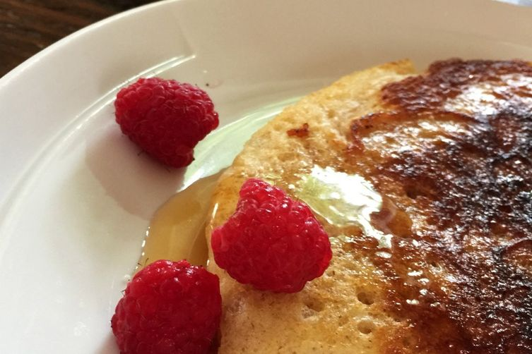 Basic Buttermilk Whole Wheat Pancakes 1