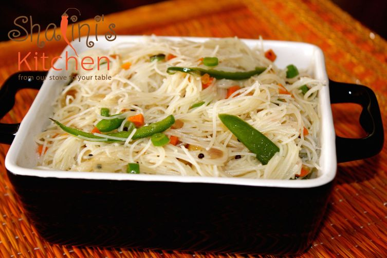 Spiced Rice NoodleUpma