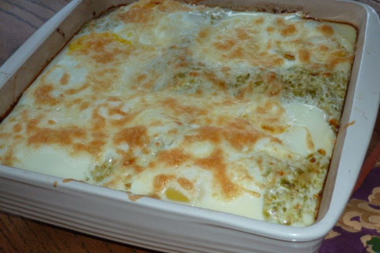 Breakfast Enchiladas with Roasted Tomatillo Sauce 1
