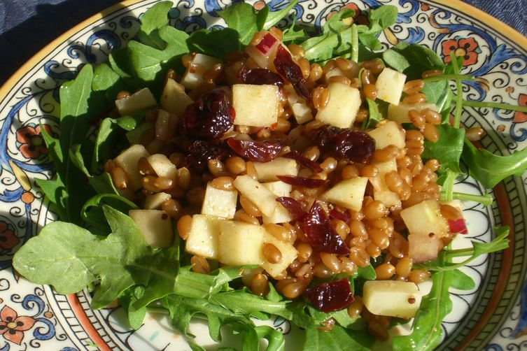Apple and Manchego Salad withWheatberries 1