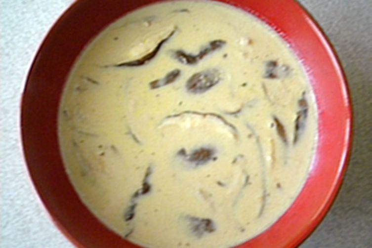 Creamy Mushroom and SwissSoup 1