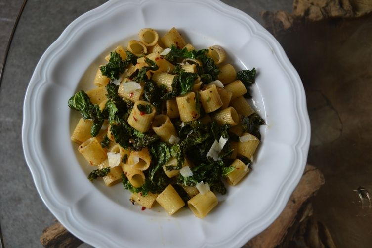 Ditaloni with Spicy CrunchyKale