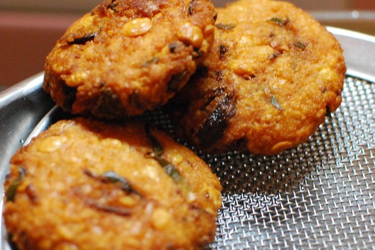parippu vada or dal vada a common street food ofKerala