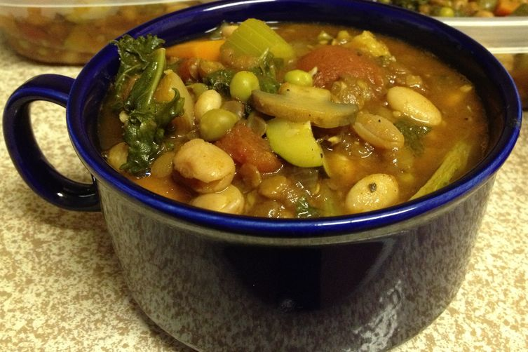 Feed A Ton Vegetable Soup