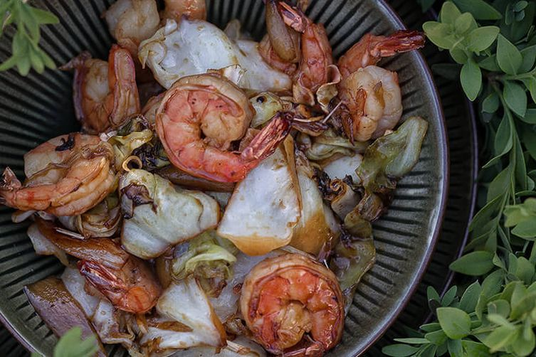 Prawns with Lemongrass 1