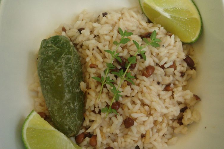 Caribbean Rice andBeans 1