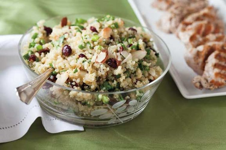 Sweet and Crunchy Quinoa Salad 1