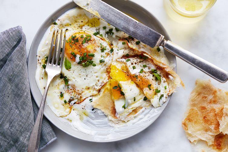 Julia Turshen's Olive Oil-Fried Eggs with Yogurt &Lemon