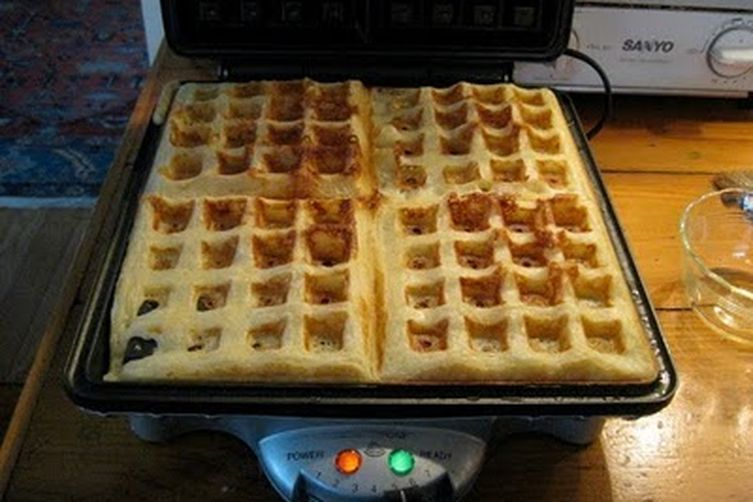Raised Waffles 1