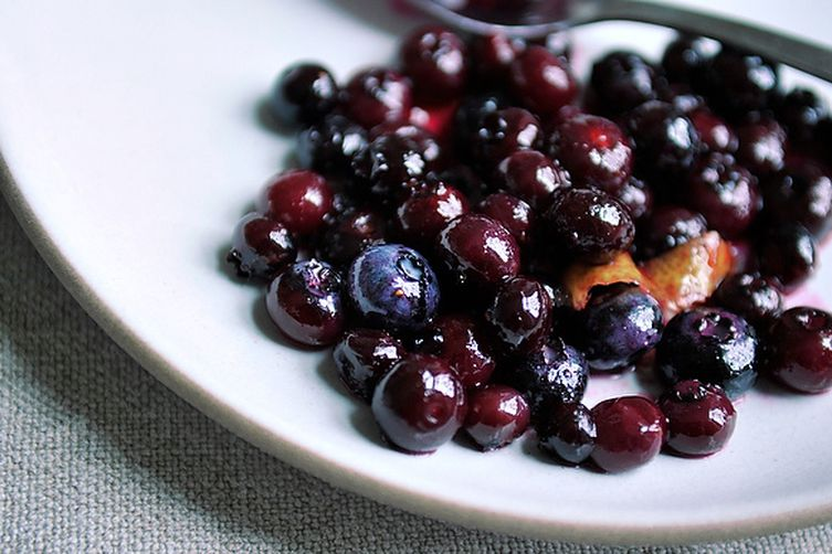 Blueberry Grappa Sauce 1