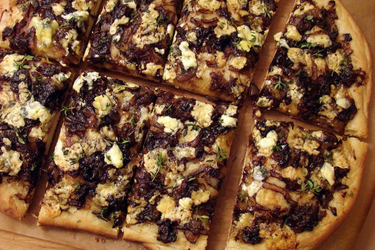 Balsamic Caramelized Onion and Blue CheesePizza 1