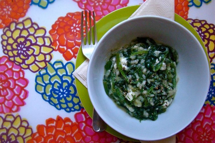 Spinach Rice 1