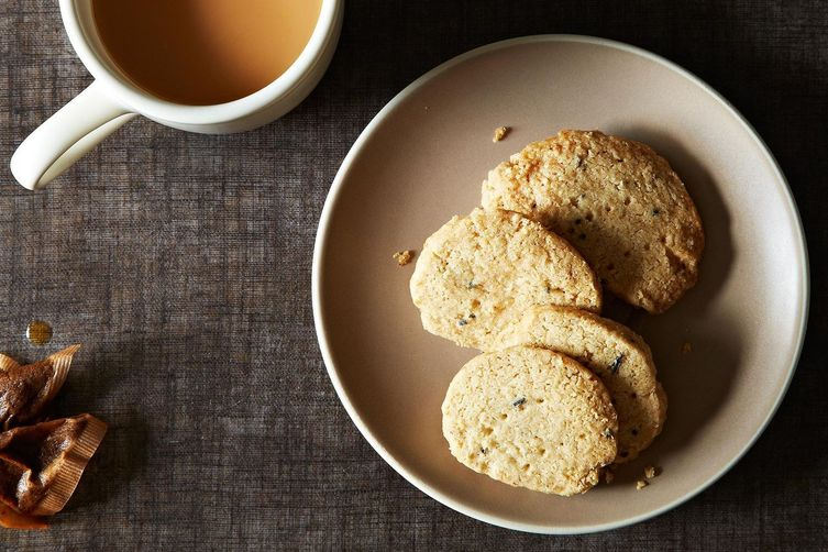 Oatmeal and Lavender Shortbread 1