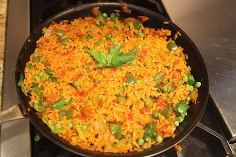Simple Vegan Paella 1