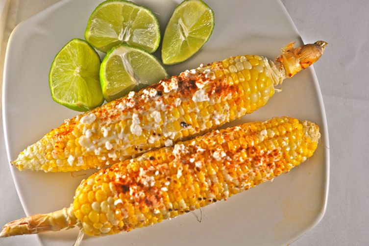 Grilled Mexican Corn (EloteLoco) 1