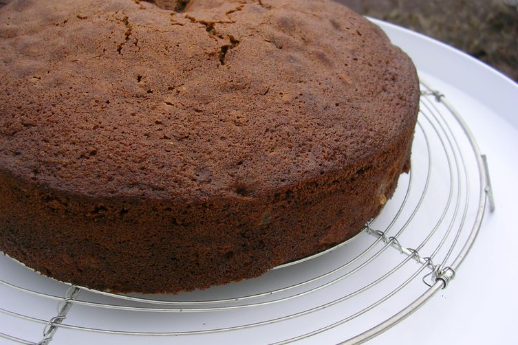 Spiced Chocolate Pear Cake 1