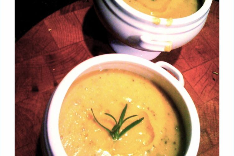 Chickpea Soup withRosemary 1