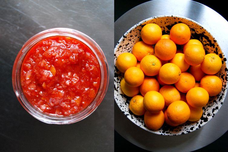 Blood Orange Marmalade - Sunset in ajar 1