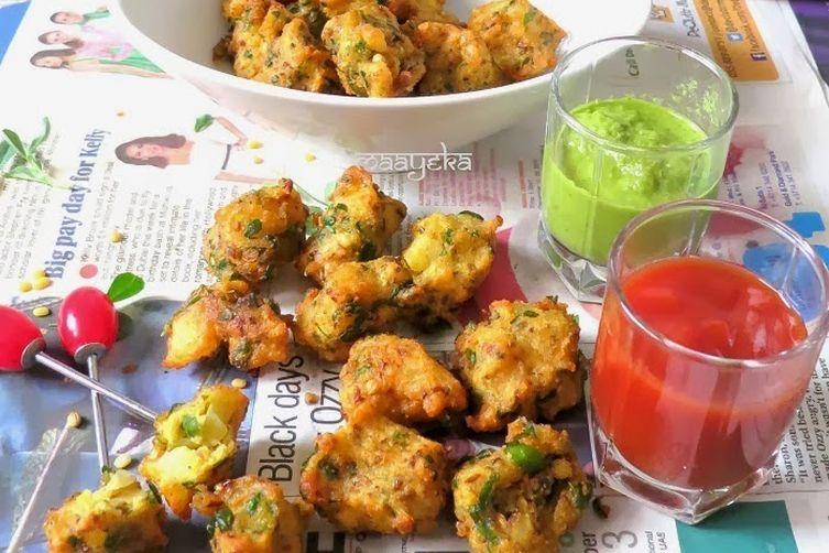 Moong daal Bhajiya /lentilfritters 1