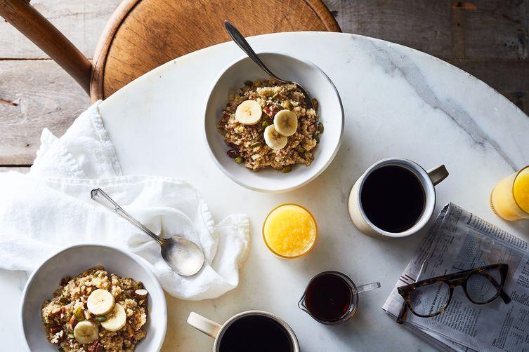 Warm and Nutty BreakfastCouscous 1