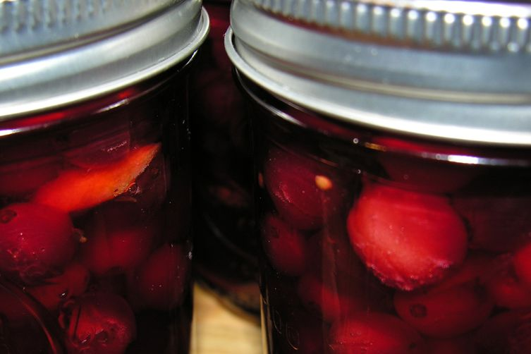 Pickled cranberries 1