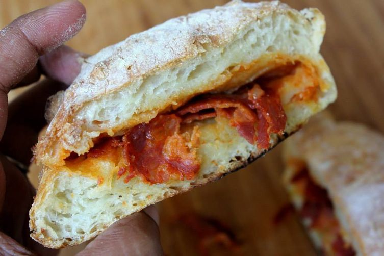 Chorizo stuffedbread