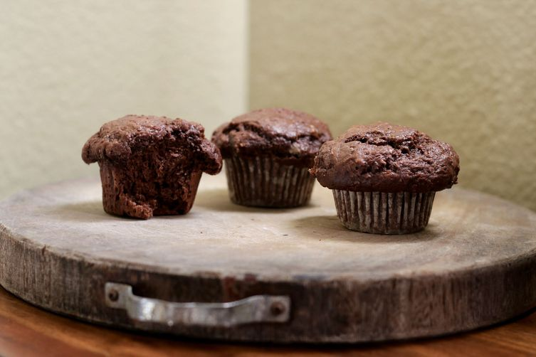 Bakery Style ChocolateMuffins 1