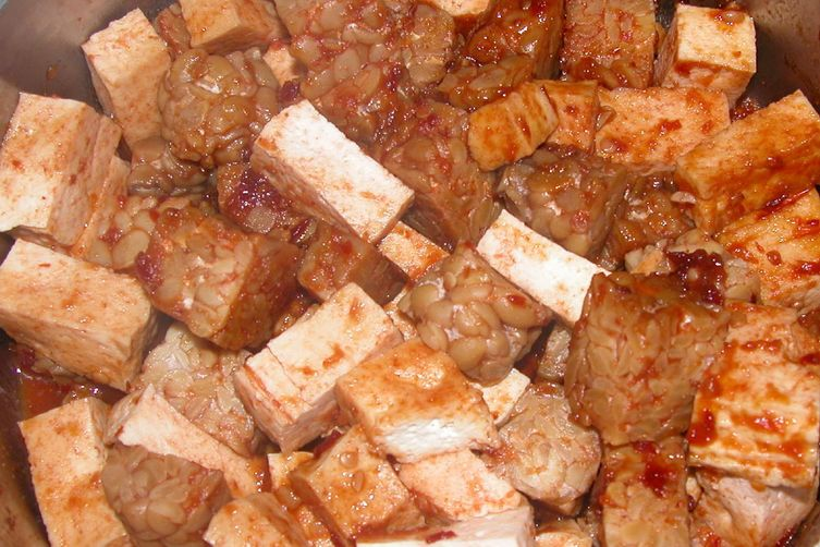 Spicy Barbecue Tofu and Tempeh 1