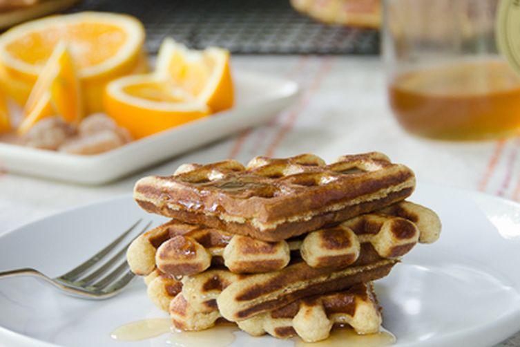 Honey Orange GingerWaffles 1