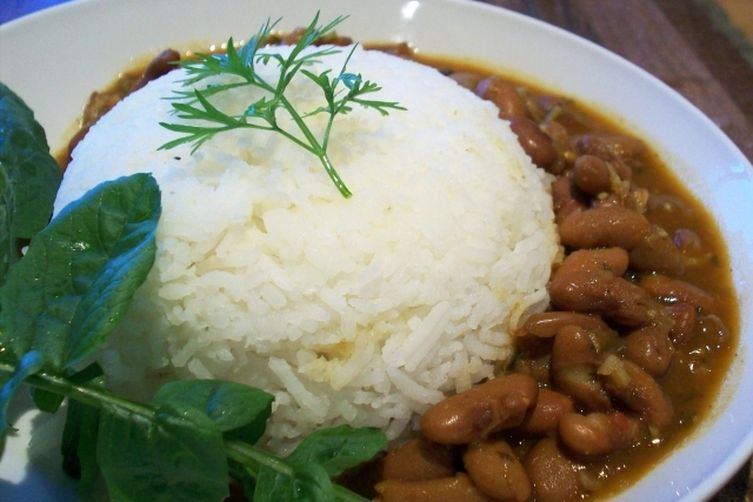 Indian Spicy Pinto Bean Curry(Rajma) 1