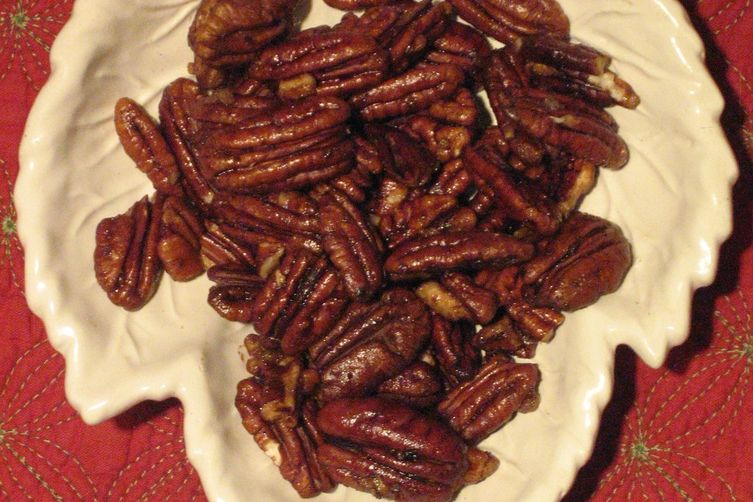 Spicy Maple Pecan PartyNuts