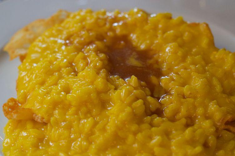 Saffron Risotto (risotto alla milanese) - Lombardia, Primo (FirstCourse) 1