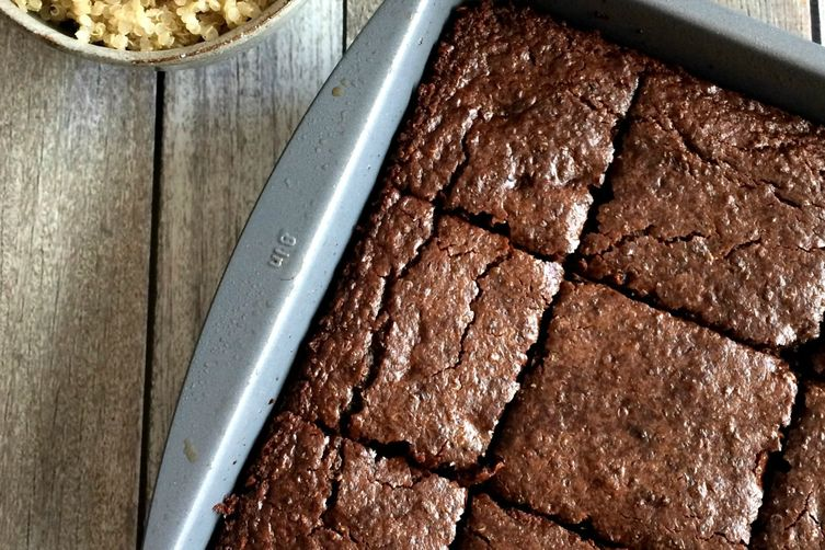 Double Chocolate Quinoa Brownies 1