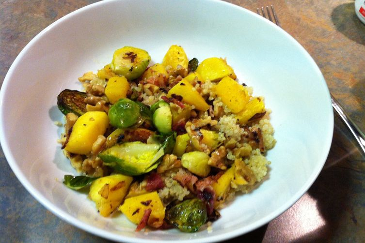 The B's Knees (Bacon, Butternut Squash and BrusselSprouts) 1