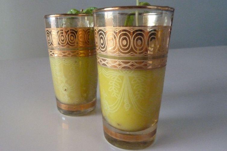 Mango-Jalapeño GazpachoShots 1