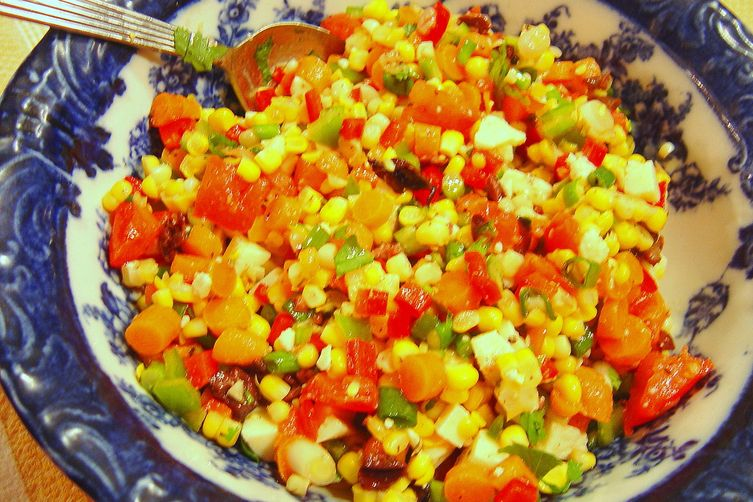 Summertime Fresh Corn Salad 1
