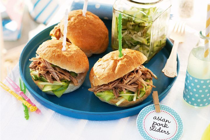 Asian pork sliders 1