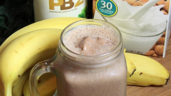 Banana Peanut Butter Smoothie 1