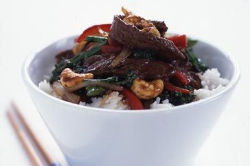 Beef and cashew stir-fry 1