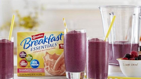 Berry Smoothie from Carnation Breakfast Essentials® 1