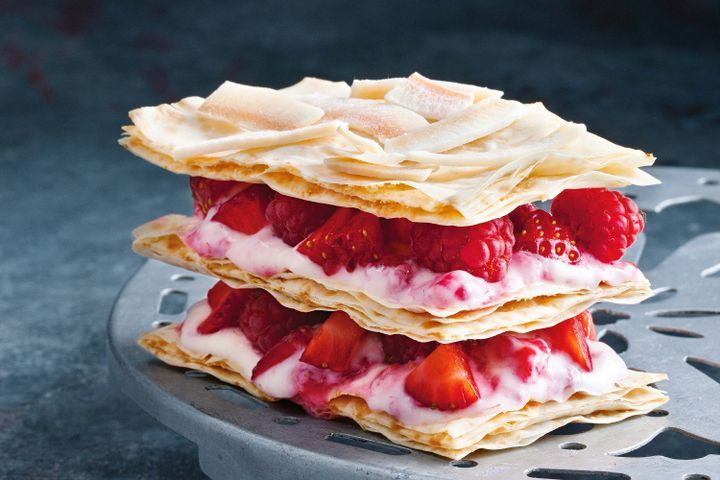 Berry mille-feuille 1