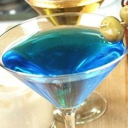 Blue Sky Martini 1
