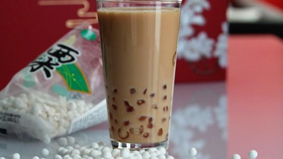 Boba (Coconut Milk Black Tea with Tapioca Pearls) 1