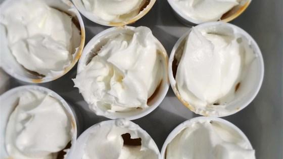 Caramel Apple Martini Pudding Shots 1