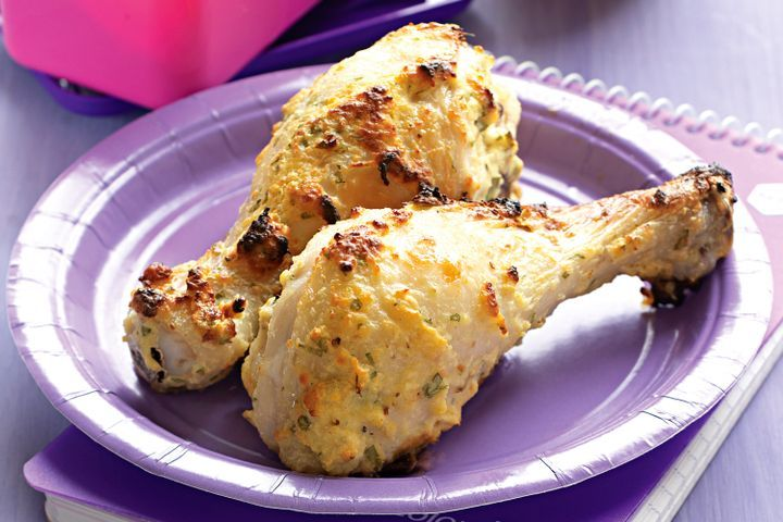 Cheese and mustard drumsticks 1