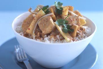 Chicken and custard apple curry 1